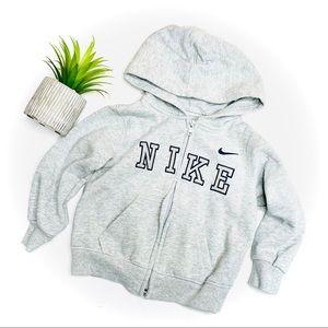 Nike Toddler Boy Fleece Lined Logo Zip Hoodie